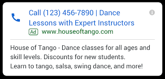 Google Call Ads